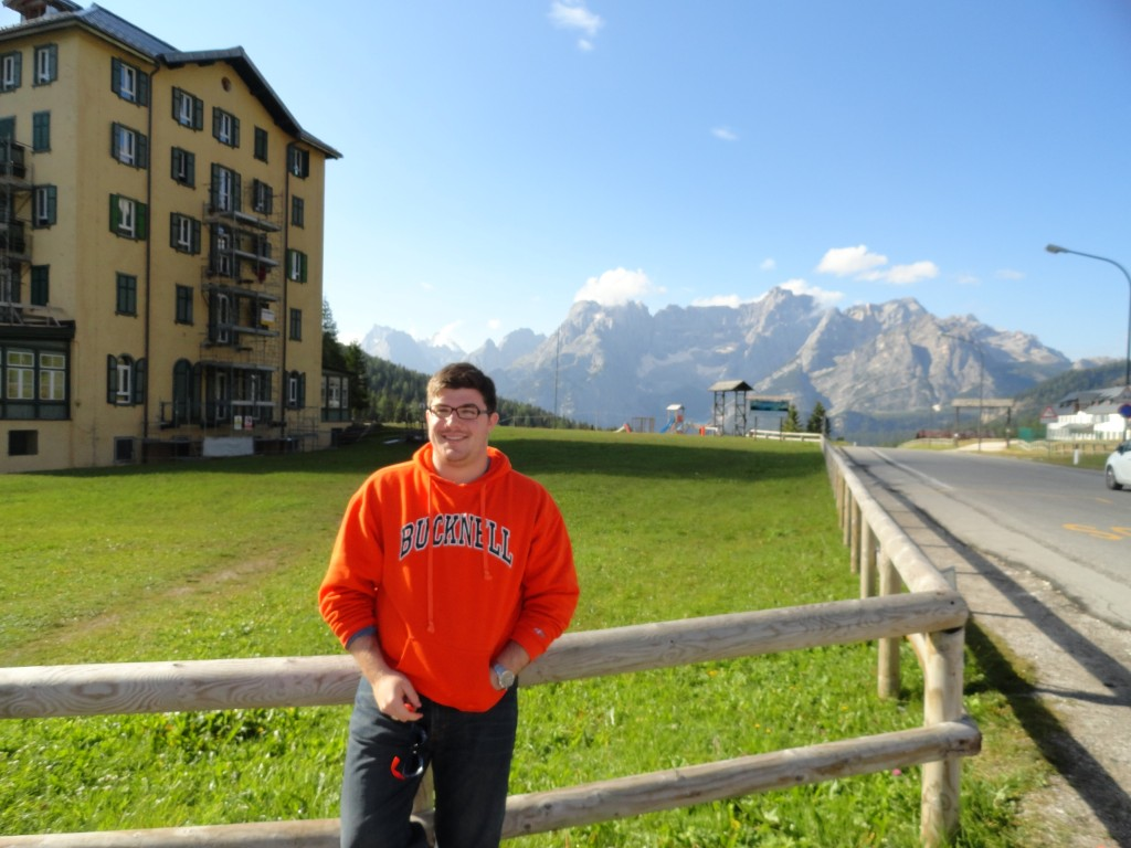 The base of Misurina