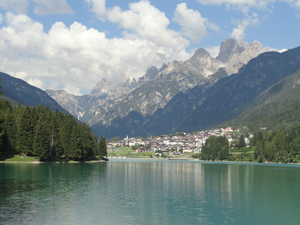 The town of Auronzo