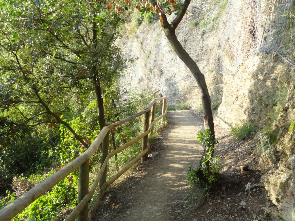 The trail from Vernazza to Monterosso al Mare