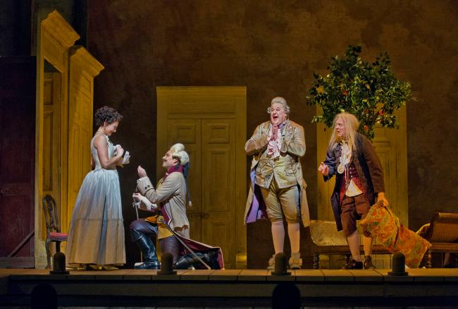 The Barber of Seville (not an image of the performance I saw)