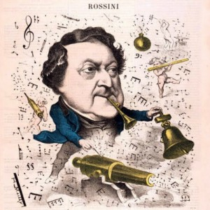Gioachino Rossini, the composer